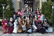 Gruppenbild der Alt-Gnome Hergiswil îm Januar 2013. (Bild PD/Foto Fischlin)