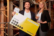 Ubaldo Piccone und Tanja Höhn werden für Ihr Businessmodell mit Startkapital versehen. (Bild: PD)