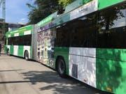 Seitenansicht des neuen Busses. (Bild: PD)