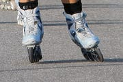 Die Inline-Skaterin fuhr zwei Kinder an (Symbolbild). (Bild: Neue LZ)