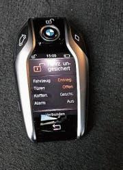Der Display-Schlüssel von BMW (Bild: .)