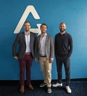 Die drei Advanon-Gründer (v. l.): Phil Lojacono, Stijn Pieper und Philip Kornmann. (Bild: PD)