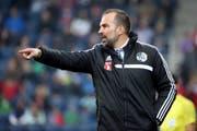 Steht auch gegen GC am Feld: FCL-Trainer Markus Babbel. (Bild Philipp Schmidli)