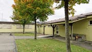 Die Schulanlage Kehlhof in Adligenswil wurde ursprünglich als Provisorium gebaut und ist sanierungsbedürftig. (Bild: PD)