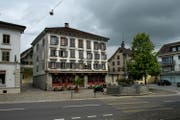 Das Chrämerhus in Ruswil muss als Denkmal erhalten bleiben. (Bild: Eveline Beerkircher (Ruswil, 30. Juni 2016))