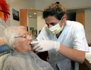 Auch das Luzerner Pflegeheim Steinhof befolgte eisern besondere Hygienevorschriften, als sich das Noro-Virus im März 2007 verbreitet hatte. (Bild Remo Nägeli/Neue LZ)