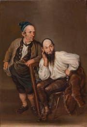 Oswald Isenschmied und Josef Bachmann aus Merenschwand, 1794. (Bild: pd)