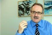 Kurt Zibung, Präsident der Zentralschweizer Volkswirtschafts- direktorenkonferenz. (Bild Erhard Gick/Neue SZ)