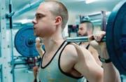 Überzeugend: Sven Schelker als David, der als Bodybuilder unberechenbare Züge entwickelt. (Bild: filmcoopi)
