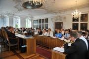 Der Obwaldner Kantonsrat tagt im Rathaus Sarnen. (Bild Corinne Glanzmann/Neue OZ)