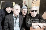 Die Luzerner Band OM (von links): Bobby Burri, Urs Leimgruber, Christy Doran und Fredy Studer. (Bild: PD)