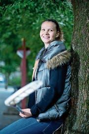 Luzia Kessler glaubt trotz vieler Änderungen im Team an Zug United: «Wenn wir zusammenhalten, sind wir in der Lage, alle zu schlagen.» (Bild: Maria Schmid (Zug, 11. September 2017))