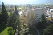 Das Kantonsspital Uri muss umfassend saniert werden. (Bild: Urs Hanhart / Neue UZ)