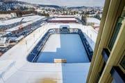 Auf dem Dach der Swissporarena wird es möglicherweise doch keine Solaranlage geben. (Bild: Philipp Schmidli / Nuee LZ)