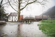 Niederschläge zeigen sich im Talboden als Dauerregen. (Bild. Valentin Luthiger (Urner Zeitung))