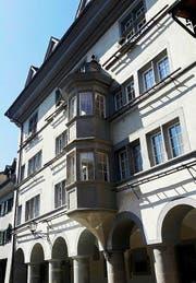 Stattlich und repräsentativ: das Bleulerhaus in der Rapperswiler Altstadt. (Bild: Andreas Fässler / Neue ZZ)