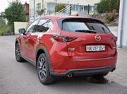 Mazda mit elektrischer Heckklappe. (Bild: Bruno Knellwolf)