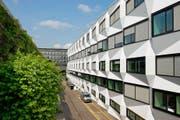 Die Universität Luzern: Sponsoren sind willkommen – unter Vorbehalten. (Bild Dominik Wunderli)
