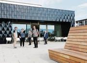 Die Eröffnung des Gemeindezentrums wird noch die ganze Woche gefeiert. (Bild: Stefan Kaiser (Steinhausen, 30. September 2017))