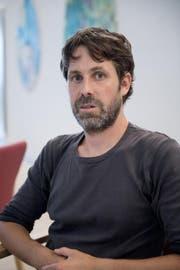 Dem Kreiselskulpteur Christoph Fischer wird eine Ausstellung gewidmet. (Bild: Pius Amrein (8. August 2016, Luzern))
