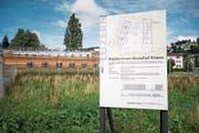 Neben dem Gefängnis Grosshof entsteht ein Zentrum für unbegleitete minderjährige Asylsuchende. (Bild: Roger Grütter (Kriens, 9. August 2017))
