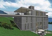 Das Wohnheim an der St.-Karli-Strasse soll aus Modulen erstellt werden. (Bild: Visualisierung: Dietschi-Architekten)