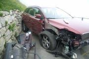 Die Unfallstelle bei Realp. (Bild: Kapo Uri)