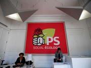 Frankreichs Sozialisten (PS) wollen unter einer neuen Führung wieder ihren Platz in der französischen Politik finden. (Archiv) (Bild: KEYSTONE/AP/CHRISTOPHE ENA)
