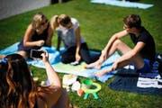 Das Fotografieren und Filmen ist in den meisten Badeanstalten generell nicht erlaubt. Aber eine strikte Durchsetzung des Verbots wird kaum praktiziert. (Bild Stefan Kaiser)