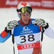 Sieg im Europacup-Rennen für Marc Gisin. (Bild: Keystone)