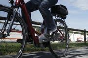 Die verunfallte Frau war mit einem E-Bike unterwegs. (Archivbild Jakob Ineichen)