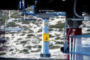 Auf auf dem Oberalppass sind die Wintersport-Anlagen momentan nicht in Betrieb. (Symbolbild Keystone)