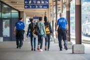 Die Nidwaldner Regierung beantragt im Rahmen der SVP-Motion beim Bund eine Personalerhöhung des Grenzwachtkorps. (Bild: Keystone)