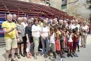 Oldie-Besuch in der Kids-Boxschule Rafael Trejo in Havanna. (Bild: Thomas Bornhauser)