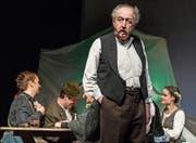 Peter Klaus verkörpert im Theater Perlen den Schacher Sepp. (Bild: Nadia Schärli (27. Februar 2018))