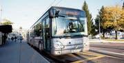 Ein Bus der Auto AG Rothenburg. (Bild: Manuela Jans-Koch (Emmenbrücke, 29. Oktober 2012))