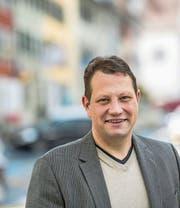 Charly Freitag (39) präsidiert den Verein Benevol Luzern. (Bild: Nadia Schärli (Beromünster, 19. September 2017))