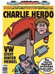 Das deutsche Titelblatt von «Charly Hebdo». (Bild: PD)