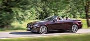 Rollt ab September in der Schweiz zum Verkauf an: das Mercedes-E-Klasse-Cabriolet.