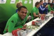 Borussias Brasilianer: Raffael ist bereit für den nächsten Fan. (Bild: pd)