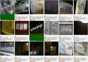 Einige der publizierten Tags, grün markierten die behobenen Fälle. (Screenshot vandalismus-stoppen.ch)