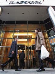 Blackrock als neue Instanz sozialerer Anlagestrategien? (Bild: Dyma Gavrysh/KEY (New York, 15. Februar 2006))