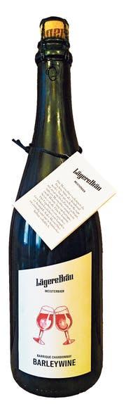 Barrique Chardonnay Barleywine. (Bild: PD)