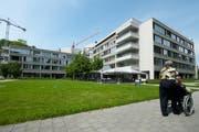 Das Betagtenzentrum Eichhof in Luzern. (Bild: Archiv Dominik Wunderli / Neue LZ)