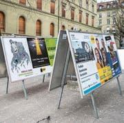Im Kanton Bern finden am kommenden Sonntag die Regierungs- und Parlamentswahlen statt. (Bild: Peter Schneider/KEY (Bern, 24. Februar 2018))