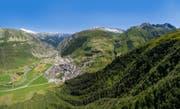 Der Schutzwald oberhalb von Andermatt. (Bild: pd)