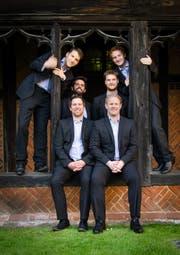 Der Chor der Königin von England: «The Queens Six». (Bild: PD)