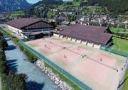 Der Sporting Park Engelberg soll durch ein Schwimmbad ergänzt werden. (Bild: PD)