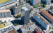 Welche Gebiete in welcher Hochhauszone liegen, wird heute im Parlament diskutiert. (Bild: Stefan Kaiser (Zug, 1. Juli 2015))