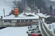 Blick auf das Areal der Gipsfabrik. (Bild: Andrée Getzmann (Ennetmoos, 18. Februar 2018))